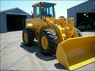 1989 John Deere 544E Wheel Loaders