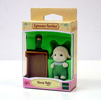 Sylvanian Families Sheep Baby +3A Cod.3413