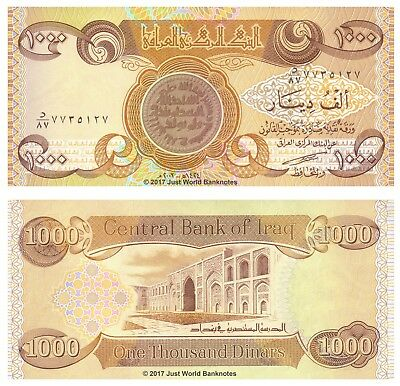 """Iraq 2013 500 Dinars P98  /""""With markings for the blind/"""" Unc"""