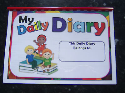 daily diary book childcare setting perfect for childminder nursery playgroup etc