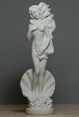 Birth of Goddess APHRODITE Venus Nude Female Statue Sculpture Figure Handmade8''
