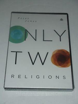 DVD - ONLY TWO RELIGIONS - A New Teaching Series from Peter Jones - 2014 NEW