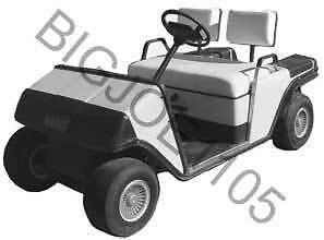 Ezgo Golf Cart Manual 89 93 Electric 70 90 Gas More 9 99