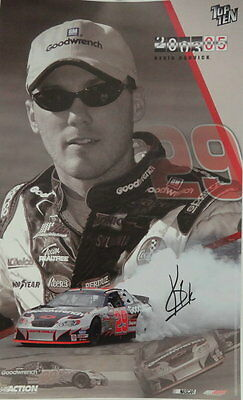 2003 Action Collectables KEVIN HARVICK Signed Poster