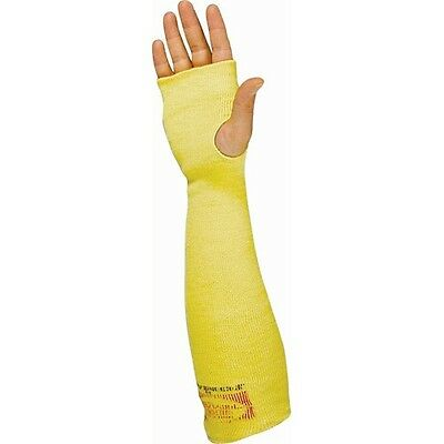"""2X 1 Pair KEVLAR SLEEVES w/ Thumb Hole 18"""" Double ply Regular fit Made in Canada"""