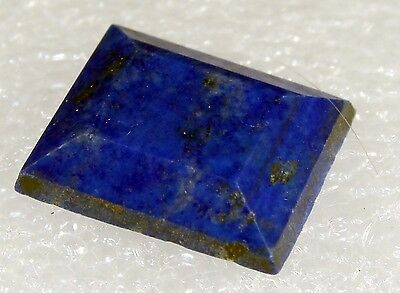 Lapis Lazuli faceted Stone, 18 x 15mm 11.5ct LA-05