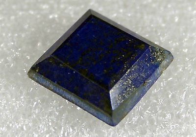 Lapis Lazuli faceted Stone, 18 x 18mm 19.5ct LA-09