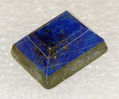 Lapis Lazuli faceted Stone, 17 x 14mm 20.5ct LA-15