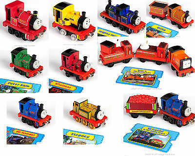 Take Along PICK Thomas n Play DUNCAN MIGHTY MAC SIR HANDEL & APPLE CART STEPNEY