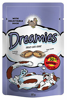 Dreamies Cat Treats 60g Duck