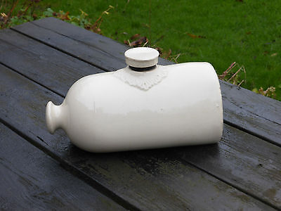 Vintage stone hot water bottle- ideal to warm small animals or a door stop!