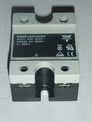 US$48 - Carlo Gavazzi Controls RAM1A60D25 Solid State Relay, RA Series NEW NIB