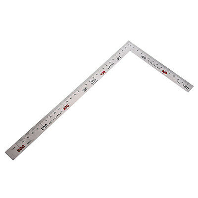 F12 150 x 300mm Stainless Steel Metric Try Square Ruler