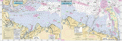 Fishing Map  Raritan Bay to Sandy Hook, NJ RSH363-BC Atlantic