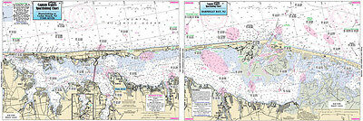 Fishing Map Toms River and Barnegat Bay, NJ MBB358 Central Atlantic