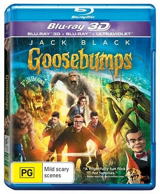 Goosebumps Blu-Ray Region B