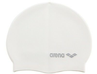 ARENA Fully Waterproof Kids Adult Swimming Cap - 100% Soft Silicone Material