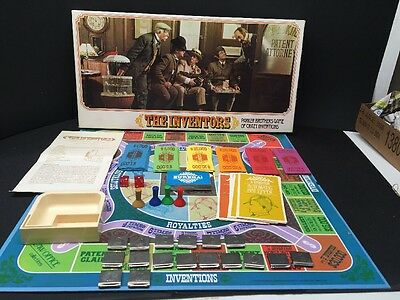 The Inventors Board Game 1974 Parker Brothers FREE SHIPPING
