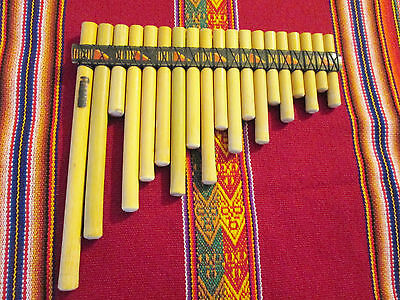 Professional Ramos Rondador 19   Pipes Case Included   - From Peru  -See Video