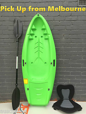 1.8M Kids Kayak With Paddle and seat Sit-on Touring Kayak Beginners Entry Level