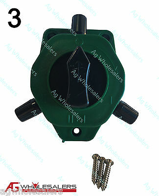 2 Way Cut Out On Off Switch   3 Pack  For Electric Fence Wire Energiser