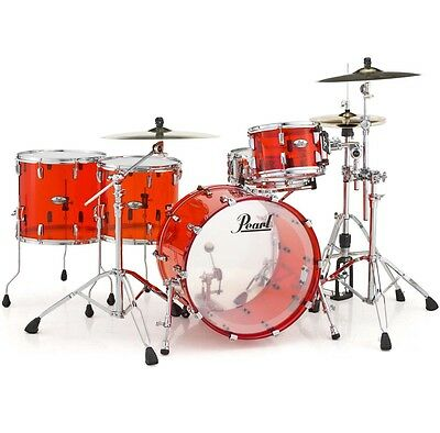 Pearl CRB524P C731 Crystal Beat Acryl Drumset Ruby Red Shellset