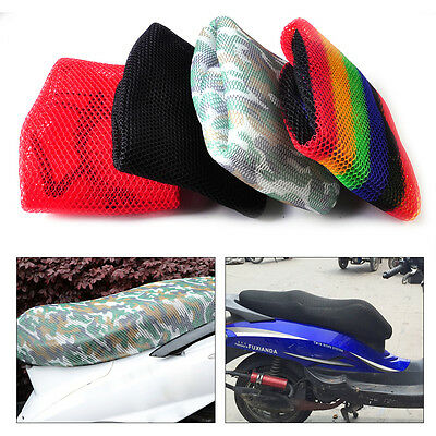 Waterproof 3D Breathable Mesh Seat Cover Cushion fits Motorcycle Scooter Moped