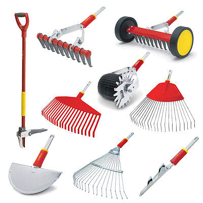 Wolf-Garten Lawn Care Various Tools Weeder Extractor Trimmer Rake Moss Removal