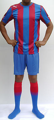 SALE 15 x Puma 'FC Barcelona' Style Youth/Mens Football Team Kits S & M