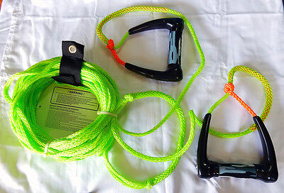 Water Ski rope & Double handles