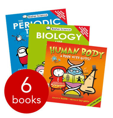 Basher Revision Science Collection - 6 Books