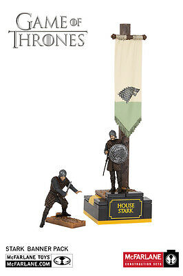 House Stark Banner Men Armee Game of Thrones Building Set MBS 19362 McFarlane