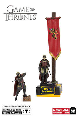 House Lannister Banner Men Armee Game of Thrones Building Set MBS19361 McFarlane