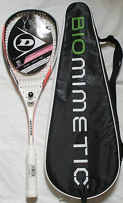 NEW DUNLOP Biomimetic F120 Squash Racquet(2016)