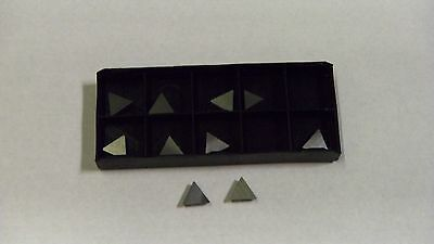 New 10Pcs Tpg-222 Tin Coated  Carbide Inserts