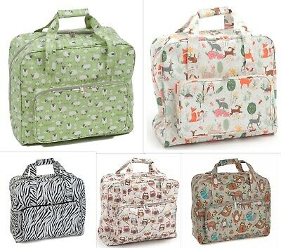 SEWING MACHINE BAG CARRY CASE STURDY VINYL Lots of Designs SUPER QUALITY