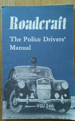 ROADCRAFT THE POLICE DRIVERS MANUAL 1965 Classic Car Morse Life On Mars Sweeney