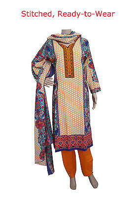 KD18 Ready Made - Khadar Salwar Kameez Pakistani Indian Asian Kurta Bollywood
