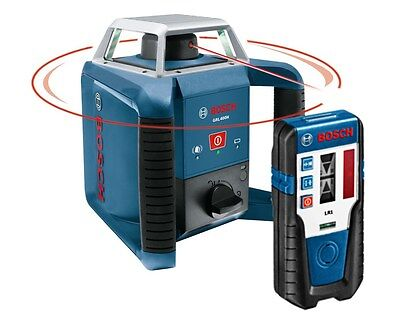 Bosch GRL400H Self-Leveling Rotary Laser with LR1 Receiver