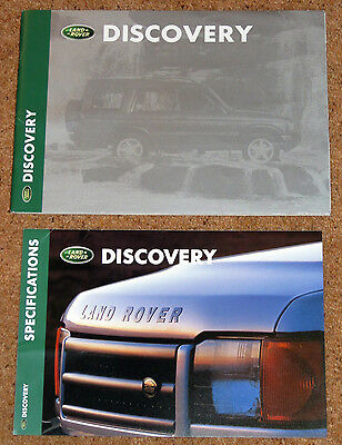 1998-99 Land Rover DISCOVERY Sales Brochure & Specifications - New Model