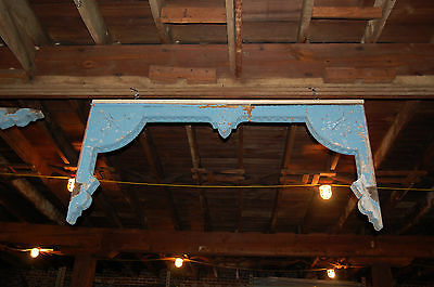Large Antique Porch Corbel,fretwork,gingerbread, Exterior Trim Architectural Sal