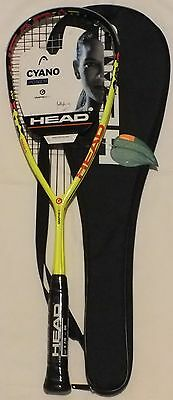 NEW HEAD Graphene Cyano XT 120 Squash Racquet