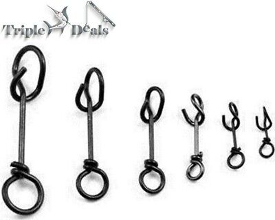 Mustad Ultrapoint Fastach Clips - Fishing Lure Clip - Fishing Clip/Snap