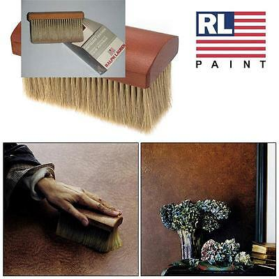 "RL Ralph Lauren ANTIQUED LEATHER 6"" Paint STIPPLER BRUSH Texture NEW Reg. $40"