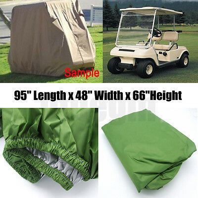 2 Passengers Heavy Duty Golf Cart Buggy Storage Cover Yamaha Cart Waterproof