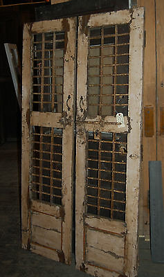 Antique Egyption Wood And Iron Doors Accent Decor Pantry Doors Arch Salvage