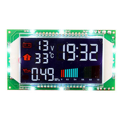 0-99℃ Temperature Module Thermometer Voltmeter Time Display DC 10-32V