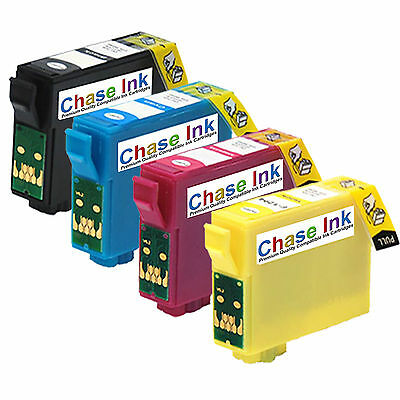 4 Compatible Ink Cartridges For Epson XP-202 XP-205 XP-212 XP-215
