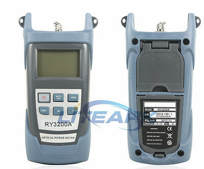 RY3200A FTTH Fiber Optic Optical Power Meter Cable Tester -70~+3 dBm FC/SC Conne