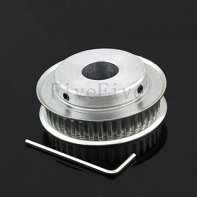 XL Type 40-Teeth 6/6.35/8/10/12/12.7/15/20mm Bore 1/5'' Pitch Timing Belt Pulley